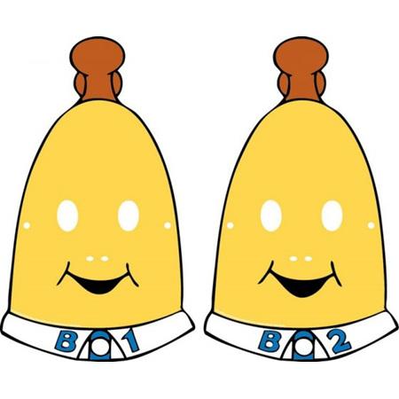 Bananas in pyjamas masks x 8