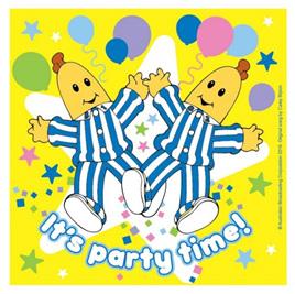 Bananas in pyjamas napkins