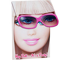 Barbie Invitations - Pack of 8