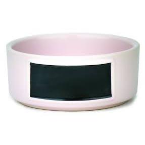 Barkley & Bella Ceramic Bowl Blackboard Pink