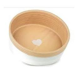Barkley & Bella Ceramic Heart Bowl