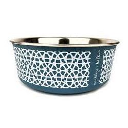 Barkley & Bella Marrakesh Bowl Blue Grey
