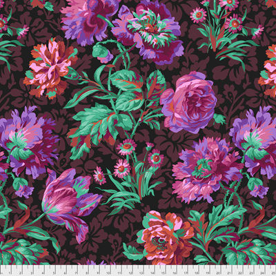 Baroque Floral Black