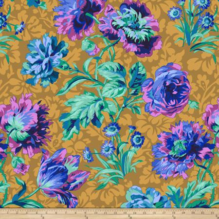 Baroque Floral Blue