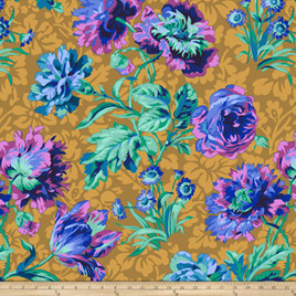 Baroque Floral Blue