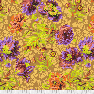 Baroque Floral Brown