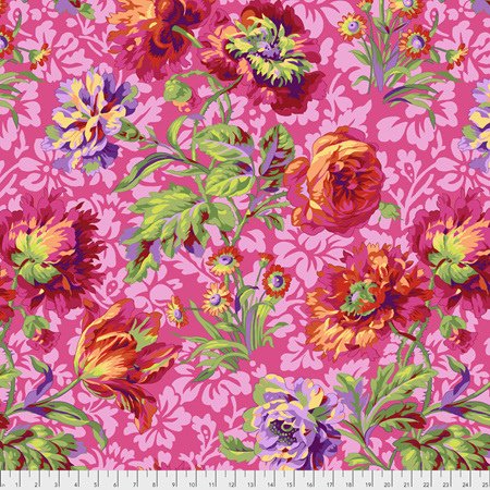 Baroque Floral Red