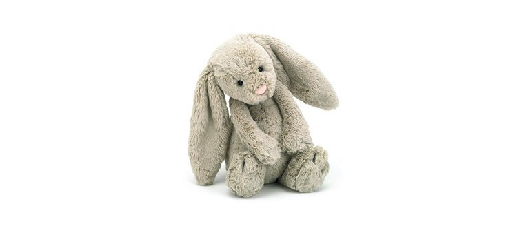 Bashful Bunny- Beige Medium