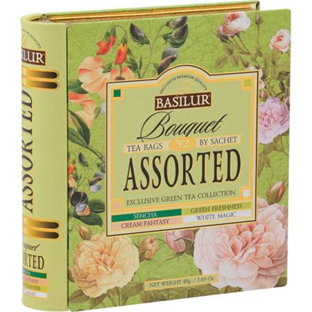 BASILUR TEA BOOK BOUQUET COLLECTION 32 BAGS