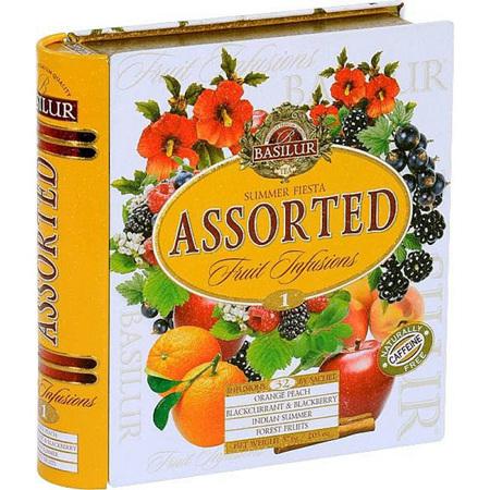 BASILUR TEA BOOK FRUIT INFUTIONS  1
