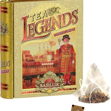 BASILUR Tea Book Mini-Legends-London