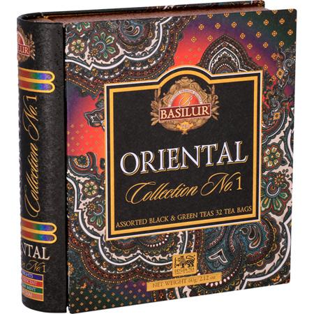 BASILUR TEA BOOK ORIENTAL COLLECTION VOL 1