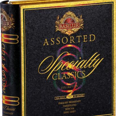 BASILUR TEA BOOK SPECIALTY CLASSICS 32 BAGS