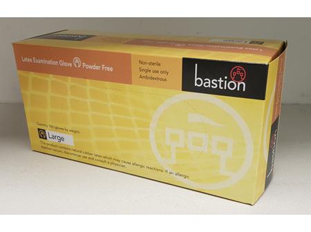 Bastion Examination Gloves Powder Free Large