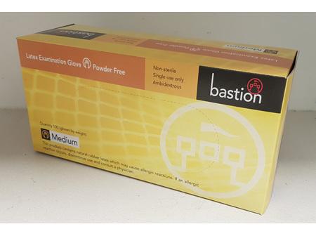 Bastion Examination Gloves Powder Free Medium