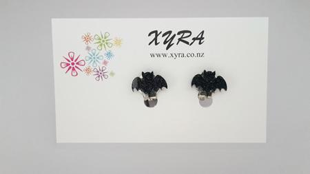 Bat Clip-On Earrings