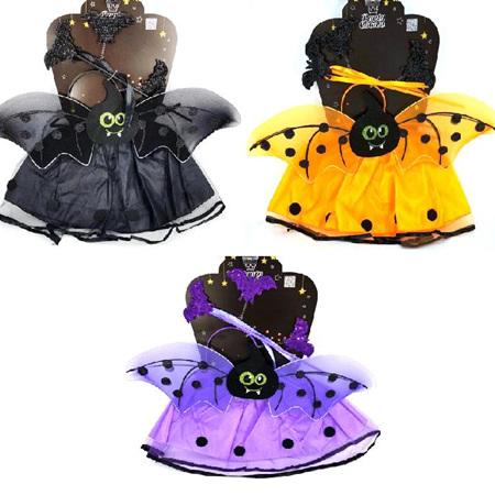 Bat Fairy Costume - Black ONLY