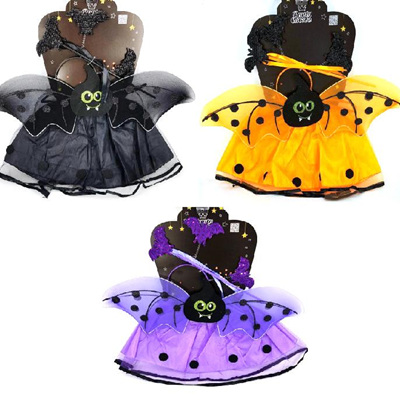 Bat Fairy Costume - Black ONLY