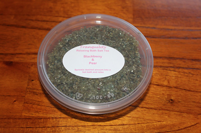 Bath Salt Tea - Blackberry & Pear