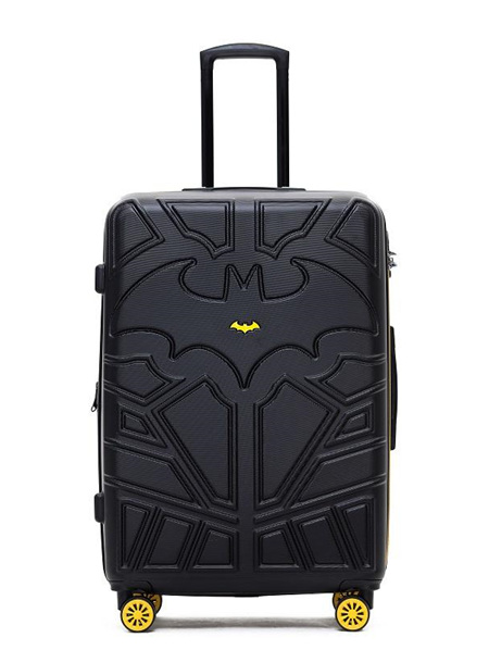 Batman - 28in Large 4 Wheel Hard Suitcase - Black