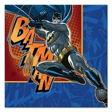 Batman 3 Beverage Napkins