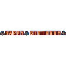 Batman 3 Happy Birthday Banner