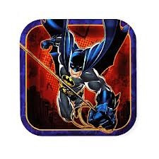 Batman 3 Party Plates - Small