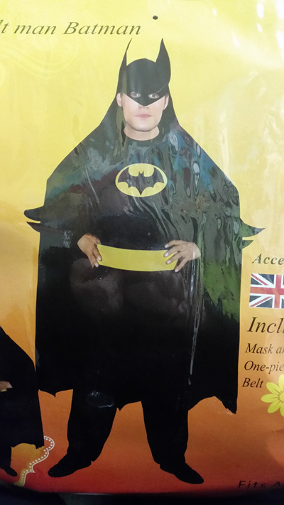 Batman Costume - Adult Size