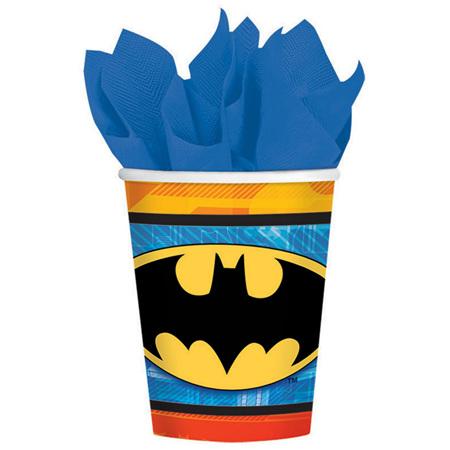 Batman cups x 8
