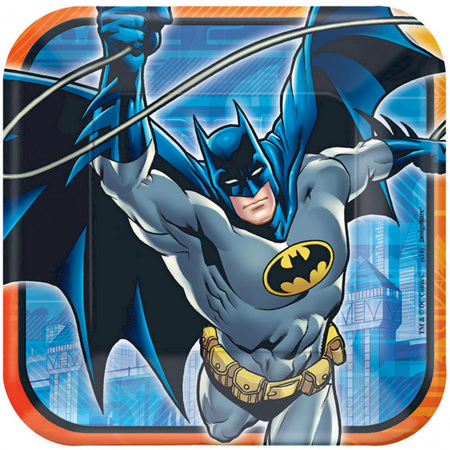 Batman plates x8
