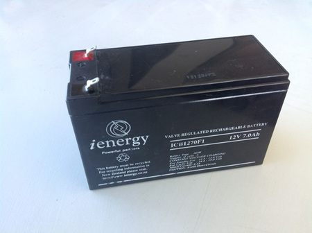Battery 12v 7ah - Rechargeable