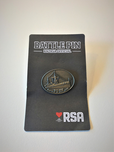 Battle Pin - Jutland