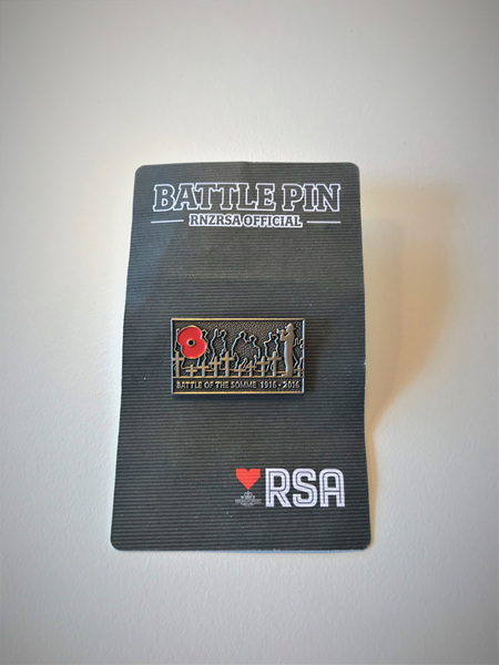 Battle Pin - Somme