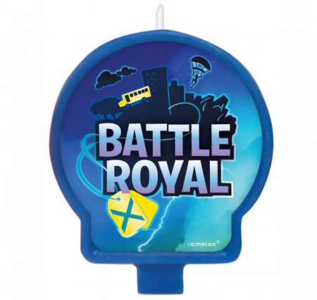 Battle Royal candle.