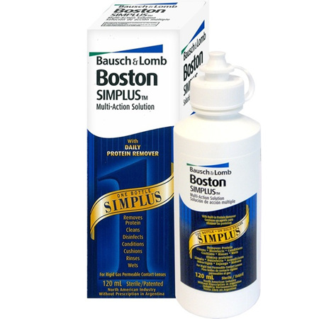 Bausch + Lomb Simplus Multi-Action Solution 120ml