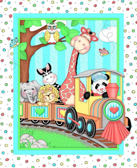 Bazooples Choo Choo Panel (Last One!)