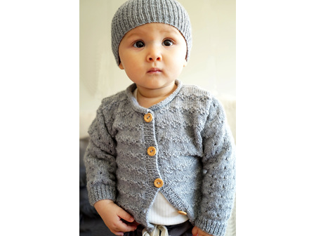 BC82 Pattern Clementina cardi and hat