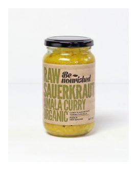 Be Nourished Sauerkraut Amala Curry 380g