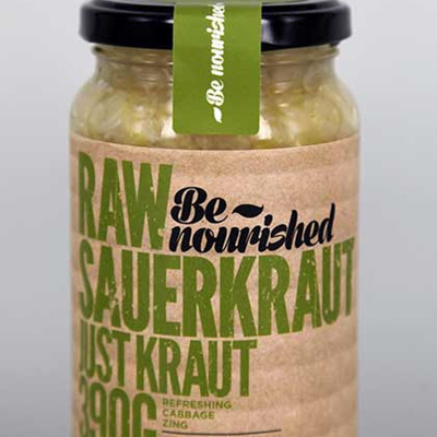 Be Nourished Sauerkraut Just Kraut 380g