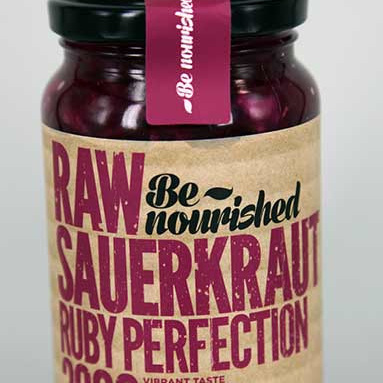 Be Nourished Sauerkraut Ruby Perfection 380g