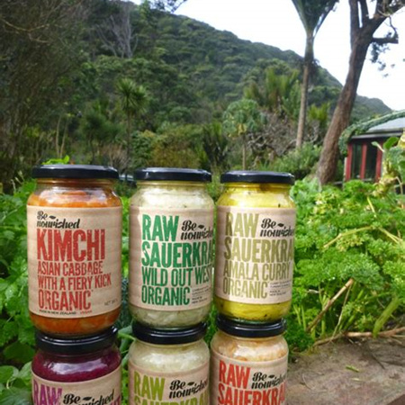 Be Nourished Sauerkraut/Kimchi Mixed Flavours - 380g