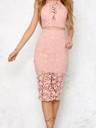 Be Yourself Lace Dress