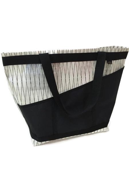 Beach Bag large - ice/black