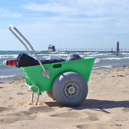 Beach Cart - 42cm Balloon Wheels