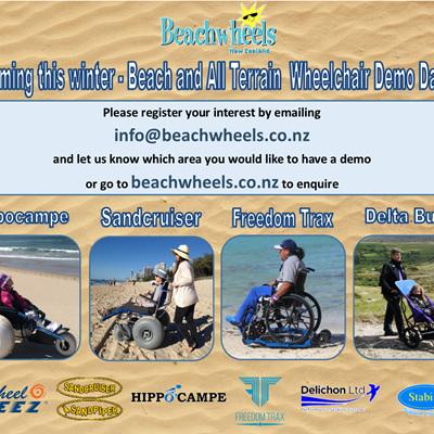 Beach Wheelchair Demo Days