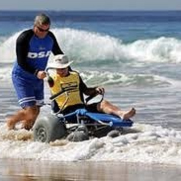 BEACH/ALL TERRAIN WHEELCHAIRS