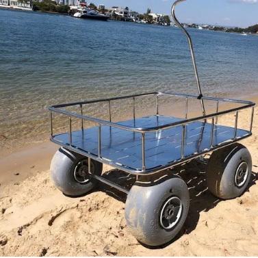 Beachwheels All-Terrain Terrier Wagon