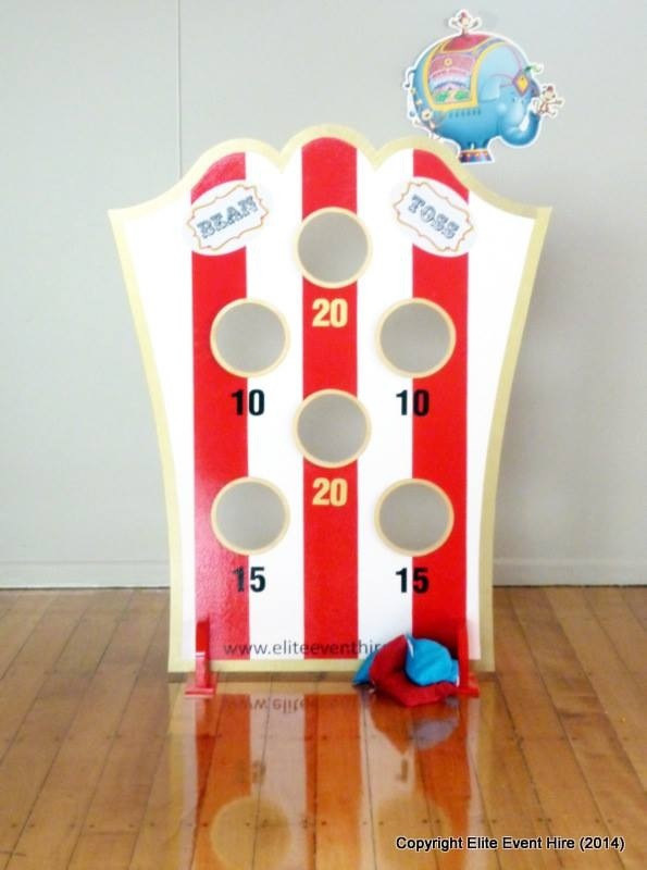 Chair bags for school nz - Bean Bag Toss Carnival Circus Traditional Vintage Game Fete