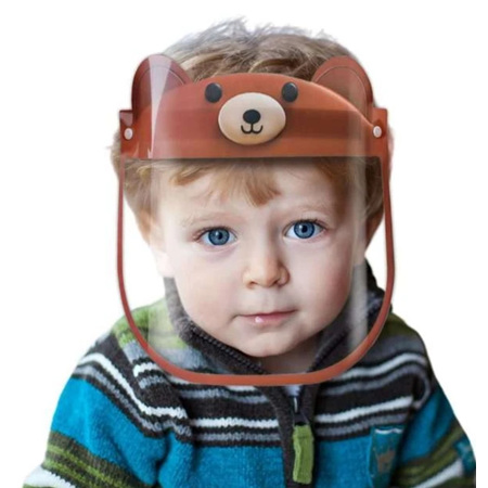 Bear Faceshield for Kids