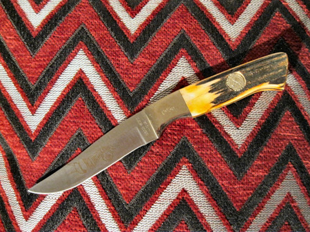 Bear & Sons Stag handle 1993 club knife (NG93)